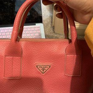 Top handle Prada bag